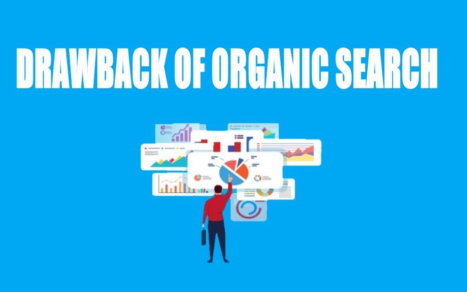 Drawback of Organic Search