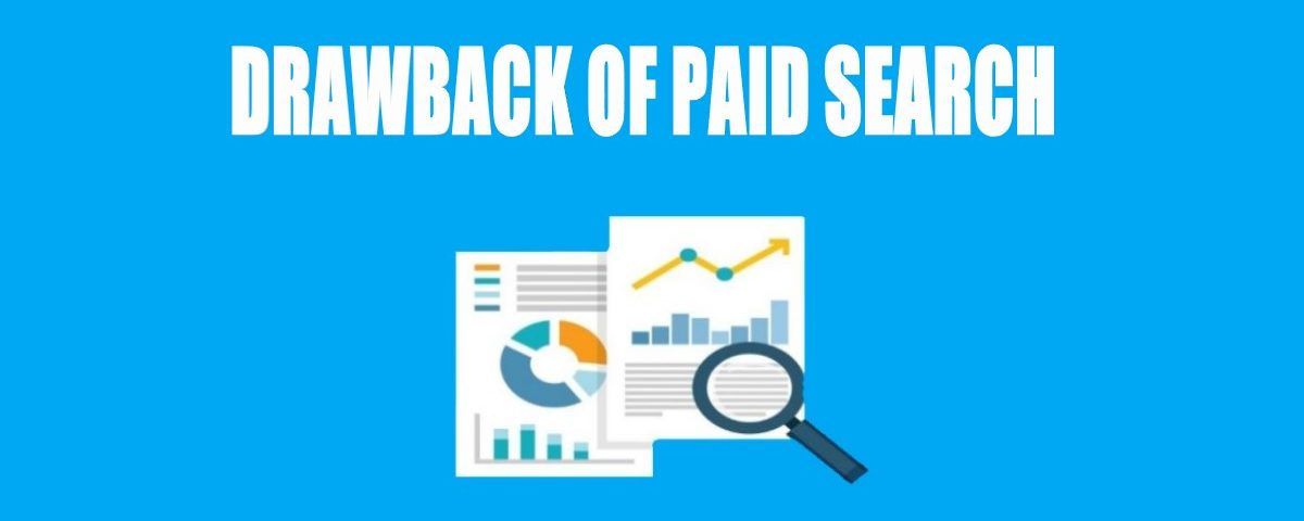 Drawback of Paid Search in Digital Marketing